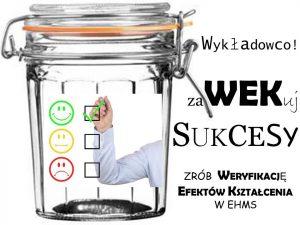 Przypominamy o WEK'ach