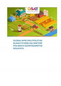 Polityka klimatyczna a polskie gospodarstwa rolne