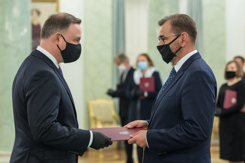 Wręczenie aktu nominacyjnego prof. dr hab. Michałowi Pietrzakowi