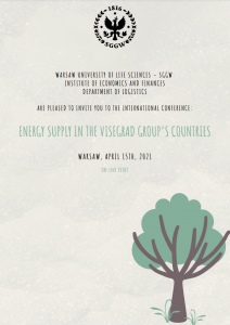 "Invitation to International Scientific Conference ""Energy Supply in the Visegrad Group countries"""
