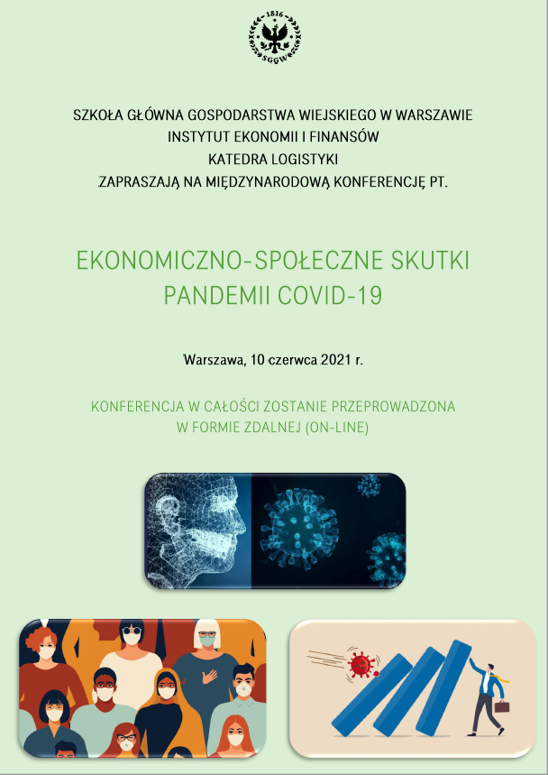 Zaproszenie na International Conference Economic and Social Consequences of the COVID-19 Pandemic